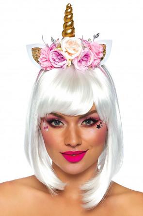 Fairy Unicorn Flower Headband