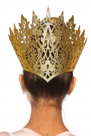 Glitter Die Cut Crown