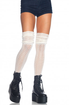Over The Knee Scrunch Sock
