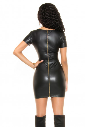 Mini dress with 2Way Zip