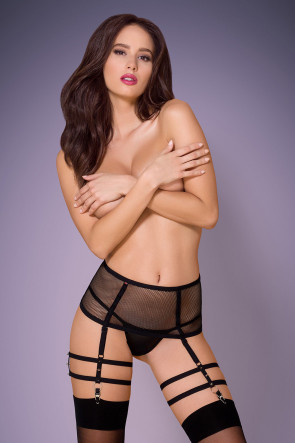 2pc Garter Set with Spicy Studs