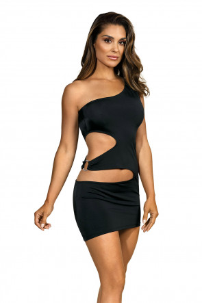 Party At Ibiza - Minidress Cutout Black