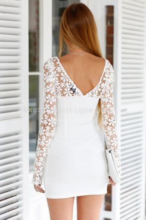 Angel Crochet Daisy Dress
