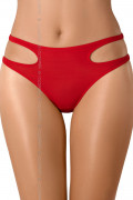 Venetian Mirror Strappy Deluxe - Briefs Red