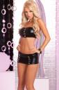 Black Miniskirt set
